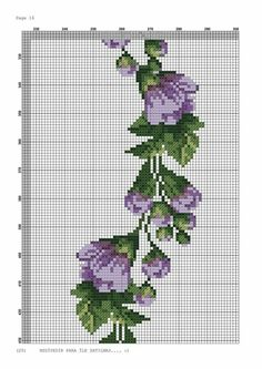 Beaded Cross Stitch, Cross Stitch Flowers, Cross Stitch Patterns, Hobbies And Crafts, Diy And Crafts, Hardanger Embroidery, Purple Roses, Christmas Cross, Cute Pattern