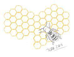 honeycomb tattoo - Google Search