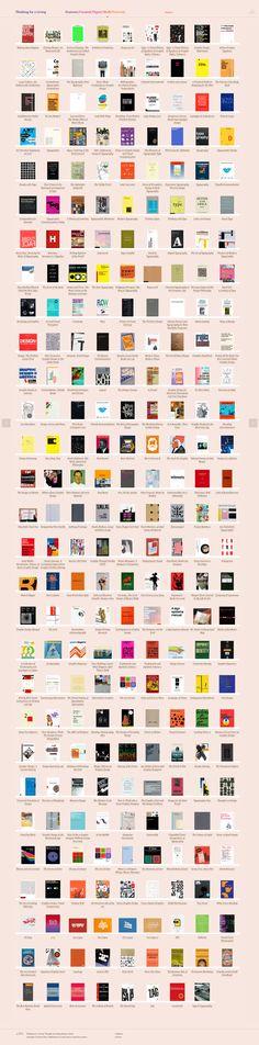 Design books via Thinking for a Living