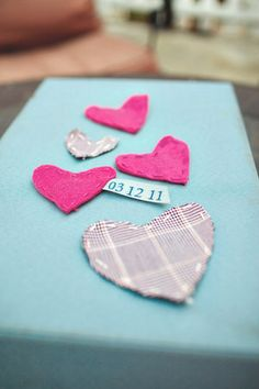 Save the Date Magnets- or could make for Valentine gifts