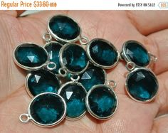 55% OFF SALE 2Pcs 92.5 Sterling Silver Or by GemsAndBeadsEmporium