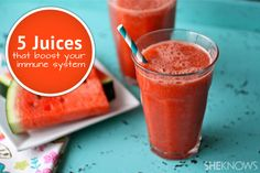 5 Mixed juice drinks to boost your immune system
