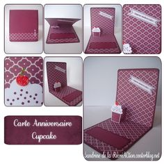 tuto pop up cupcake (petit gateau en kit) stampin up