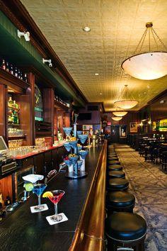 Jax Cafe. Northeast Minneapolis.  Martini Bar.  Architectural photography.