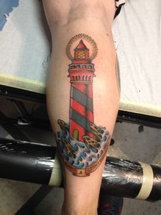 """Bioshock infinite inspired """"there's always a lighthouse"""" tattoo"""