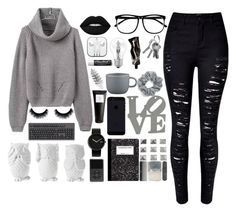 """""""Love"""" by siljander ❤ liked on Polyvore featuring Lime Crime, H&M, Alessi, CB2, Natasha Couture, Osram, Aesop, Design 55, Eight & Bob and CO"""