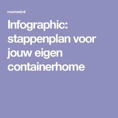 Infographic: stappenplan voor jouw eigen containerhome