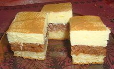 Habos-almás tejszínes szelet - www.kiskegyed.hu