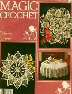 Magic Crochet № 22 1982