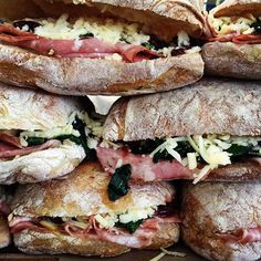 #milkfarmlunch 6/17 Happy Friday!! Come in and cool off with some ice cold beverages and some of our delicious sandwiches!!!! Today we have: • Salami rossa press, aioli, braised kale, tart cherry Mostarda, holey cow & Gruyere on ciabatta • Turkey, creamy carrot and radish salad, butter leaf, spicy aioli, cheddar on multigrain • Roast Beef, black garlic aioli, Cucmbers, arugula, Landaff on ficelle • Milkfarm's Grilled Cheese • Mac&Cheese #nela#eaglerock#itsfriday#lunchisserved #heatwa.....