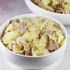 See how to make the best noodles. This is my old and proven recipe for noodles with sauerkraut, which must be cooked beforehand. Noodles with mushrooms or mushrooms will also be an ideal dish for Christmas. Kielbasa, Noodle Recipes, Sauerkraut, Mozzarella, Potato Salad, Cabbage, Stuffed Mushrooms, Dishes, Vegetables