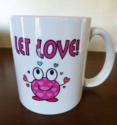 Let Faith Grow MugLove MugLet Love Mug16 oz.White by JollieSweets