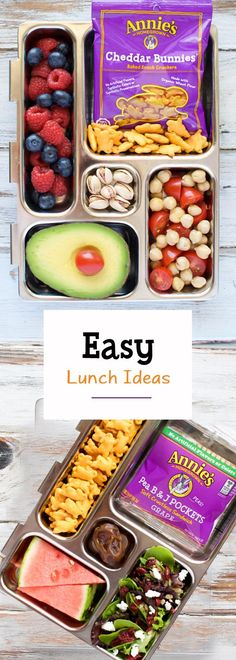 New school year, new lunch box! Hit the refresh button on school lunches and fill your kids' lunchboxes with the good stuff: fresh, delicious ingredients and convenient wholesome snacks from Annie's. Looking for more great lunch ideas? Check out Annie's lunch library to put the YUM back in the lunch box!
