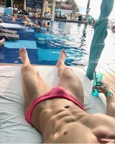 Brazilian Classi Cut Mens Swimwear Sexy Swimsuits Swim Briefs Bikini Guys In Speedos, Hot Hunks, Man Swimming, Sensual, Sexy Body, Sexy Men, Hot Men, Sexy Guys, Beautiful Men