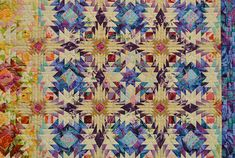 "Japanese Quilt from show in Japan ""Start Again"" by Kimie Yanagisawa detail"