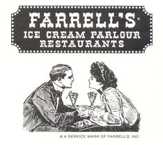 Farrell's was a great old fashioned ice cream parlor that we used to frequent growing up. It was great for us as kids because they had the earthquake sundae which has something like 50 scoops… Farrell's Ice Cream, Ice Cream Parlor, Great Memories, Childhood Memories, Washington, Back In My Day, I Remember When, Ol Days, The Good Old Days