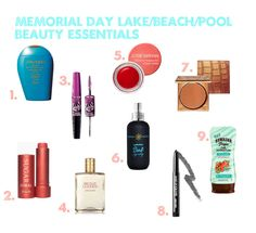 Memorial Day Lake/Beach/Pool Beauty Essentials - Beauty Down South