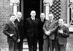 Czech Intel officere cooperating with SOE: From left: Emil Strankmüller, Josef Bartík, Bohumil Bocek, Vladimír Cigna, František Moravec and Jaroslav Tauer. Che Guevara, Fictional Characters, Fantasy Characters