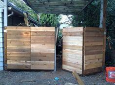 Bi-fold gate-dyi | decorate the