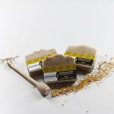 Σαπούνι ελαιολάδου πικραμύγδαλο & μέλι Olive Oil Soap, Soaps, Hand Soaps, Soap
