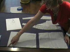 taglio della maglietta con collo scialle: Sitam corso di taglio e cucito