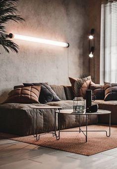 Apartment Interior, Interior Design Living Room, Living Room Designs, Living Room Decor, Bedroom Decor, Bedroom Modern, Interior Designing, Interior Decorating, Dining Room