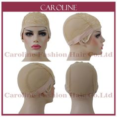 Frank 2pcs 3 Colors Wig Caps For Making Wigs Free Size Unisex Elastic Dome Cap Nylon Hair Net Black Beige Red Coffee Color Tools & Accessories Hairnets