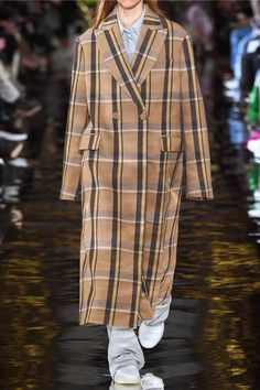 a3cb009a1e13 Stella McCartney - Oversized double-breasted checked wool coat