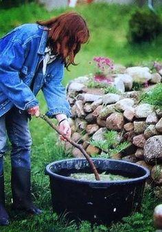 csalánlé permet:főleg a paradicsomra , megelőzhetjük vele a levéltetvek és a gombabetegségek támadását.Így:tegyünk 1 kg aprított csalánt 9 l vízbe.Fedjük le,3 nap után szűrjük le és hetente permetezzük vele a növényt.  Nitrogénben és vasban  gazdag trágyaléként is alkalmazhatjuk.így: tegyünk 1kg arított növényt,áztassuk 9 l vízben. Fedjük,keverjük minden2. nap.15 nap múlva, amikor már több buborék nincs, szűrjük le. Hígítsuk 10xesére, öntözzük burg, káp.,cukk.,spenót Gardening Tips, Animals And Pets, Home And Garden, Vegetables, Outdoor Decor, Fruit, Plant, Tips, Pets