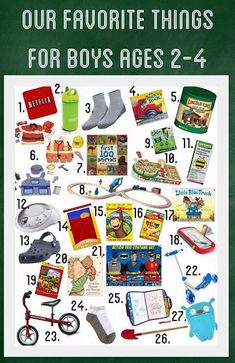Gift Ideas for 2,3,4 year old boys