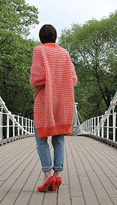 Ravelry: Tropisk jakke /Tropical Coat pattern by Anna & Heidi Pickles
