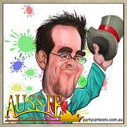 Custom Portraits Caricatures and more by AussiePortraits on Etsy