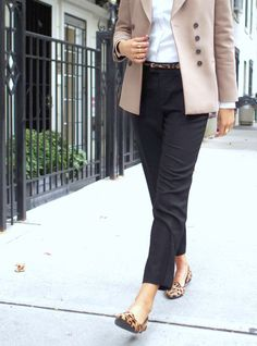 Leopard Loafers | MEMORANDUM | NYC Fashion & Lifestyle Blog for the Working Girl