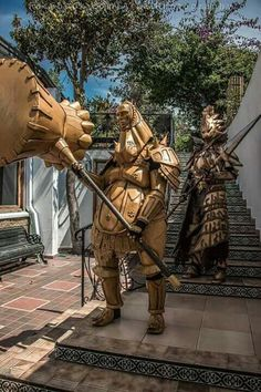 Cosplay-ornstein & smough from dark souls