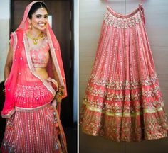 Ankita Parmar, a delighted Anita Dongre bride sent us this picture. Here's wishing the happy couple a lifetime of happiness. Picture credit: Richa Kashelkar To buy online - http://shop.anitadongre.com/lehenga-14802.html