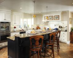 Kitchen Two Tone Cabinets Design, Pictures, Remodel, Decor and Ideas - page 16