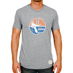 Florida Gators Original Retro Brand Vintage UF Tri-Blend T-Shirt - Heather Gray - $23.99