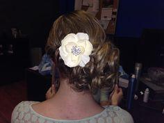 Wedding hair...my updo trial!