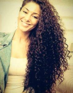#long #curly #hair
