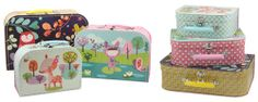 Mini Labo Suitcase Set of 3 - Forest - UrbanBaby