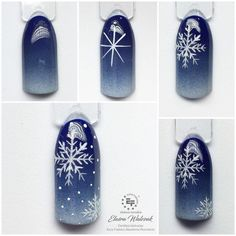 Christmas Nail Designs - My Cool Nail Designs Long Nail Designs, Winter Nail Designs, Winter Nail Art, Winter Nails, Xmas Nails, Holiday Nails, Christmas Nails, Christmas Tree, Christmas Nail Art Designs