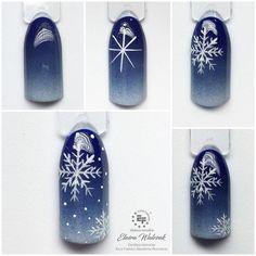 Christmas Nail Designs - My Cool Nail Designs Xmas Nails, Holiday Nails, Christmas Nails, Fun Nails, Pretty Nails, Christmas Tree, Long Nail Designs, Winter Nail Designs, Winter Nail Art