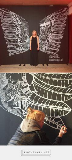 Fox's Birdman Wings | Kelsey Montague Art http://kelseymontagueart.com/foxs-birdman-wings/ - created via http://pinthemall.net
