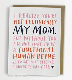 Words to live by… for Mother's Day.