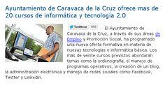Ayuntamiento de Caravaca de la Cruz ofrece mas de 20 cursos de informática y tecnología 2.0