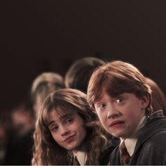 """This Is What It's Like To Watch """"Harry Potter And The Chamber Of Secrets"""" For The First Time Hermione Granger and Ron Weasley – Harry Potter Harry Potter World, Mundo Harry Potter, Harry James Potter, Harry Potter Cast, Hogwarts, Harry Ron Hermione, Hermoine And Ron, Ron And Harry, Hermione Granger Funny"""