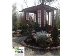Beautiful Japanese Tea House. Perfect for any garden. http://terryshomeandgarden.com