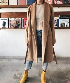 Image result for Ryan RocheLong Coat w/ Pockets