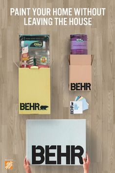 Get quality paint, supplies and peel & stick paint samples conveniently delivered to your door with BEHR® Express. Click below to shop now.