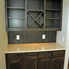 Built In Dry Bar | Thomas Built Custom Cabinets